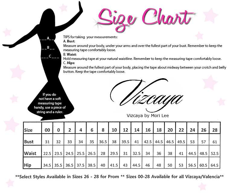 prom dress styles chart,